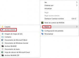 Acceso directo para Outlook.com