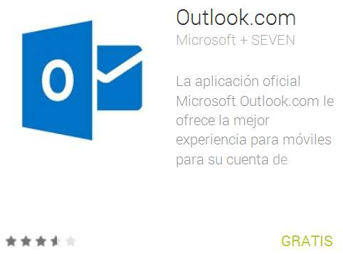 Actualizar Outlook para Android