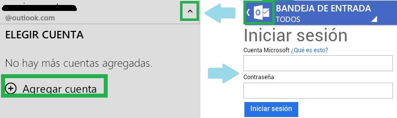 Agregar una nueva cuenta de Outlook.com para Android