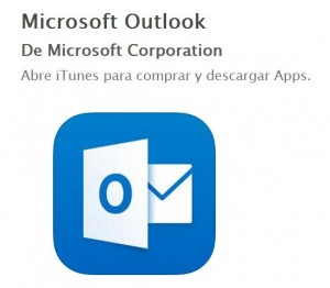 Características de Outlook para iPhone