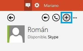 Chat de grupo en Outlook con Skype