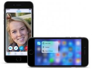 Compatibilidad con 3D Touch en Skype para iOS