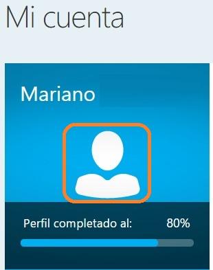 Configurar cuenta Skype