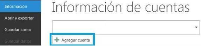 Configurar una casilla de correo de Outlook.com en Outlook