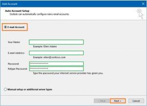 Configurar una cuenta de Outlook.com en Outlook