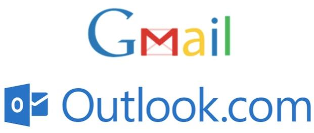Elegir entre Outlook.com y Gmail