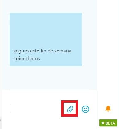 Enviar imágenes en Skype para Outlook.com