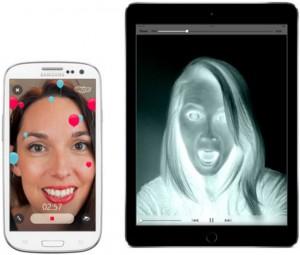 Filtros de video para Skype en iOS