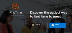FindTime para Outlook