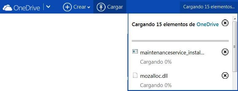 Guardar archivos en OneDrive