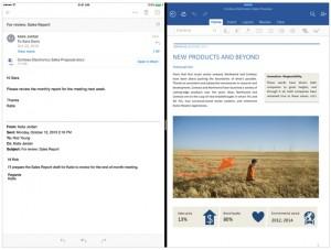IPad Pro - actualización de Office