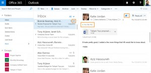 Likes en Outlook