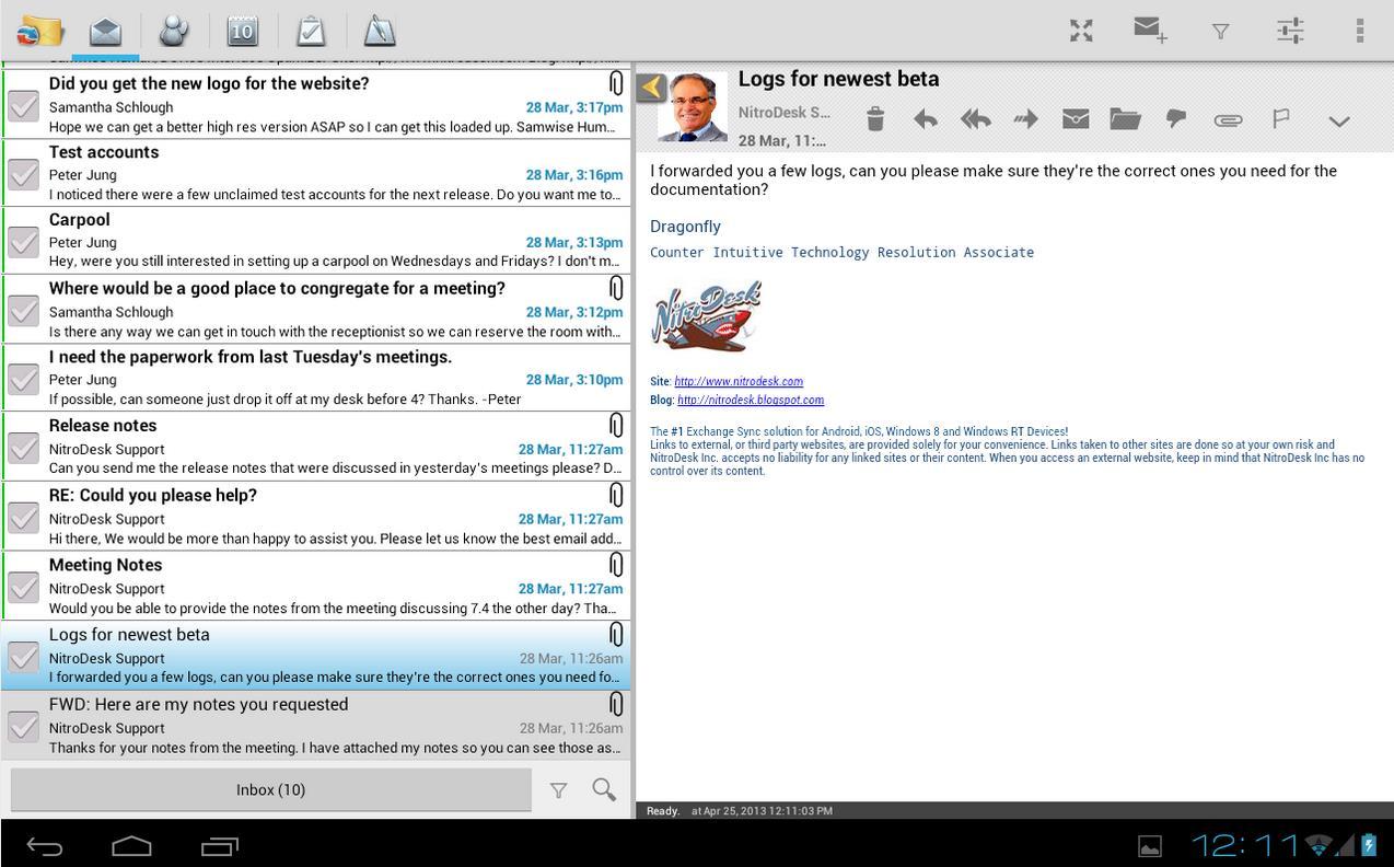 Nueva alternativa para Outlook.com en Android, TouchDown