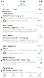 Nuevo aspecto de Outlook para iOS