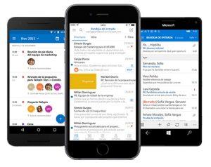 Outlook móvil