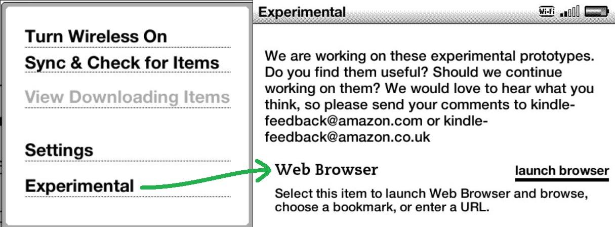 Outlook.com desde Kindle