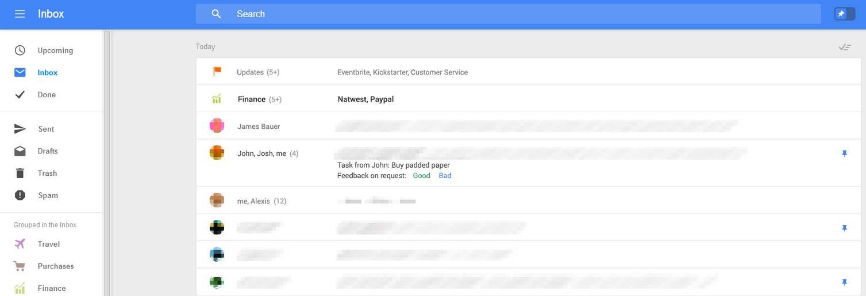 Parecidos entre el nuevo entorno de Gmail y el de Outlook.com