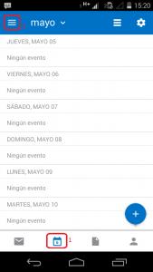 Personalizar los colores de los calendarios en Outlook para Android