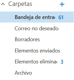 Principales características del entorno de Outlook Preview