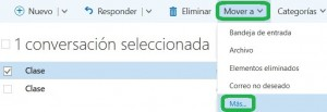 Realizar copias de correos en Outlook Preview