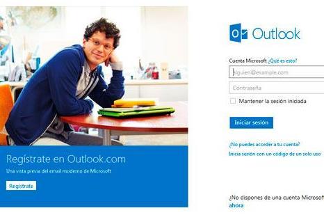 Reciclaje de cuentas en Outlook.com