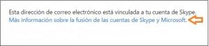 Skype y Outlook.com