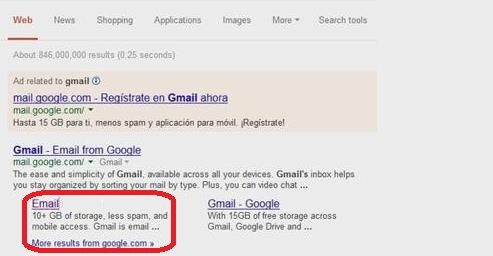 Usuario de Outlook.com recibe spam por parte de Gmail