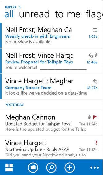 Utilizar Outlook.com en iPhone