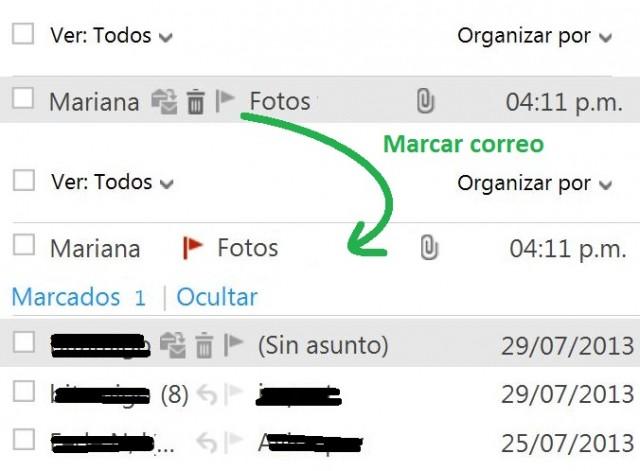 Utilizar acciones instantáneas en Outlook