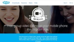 Videoconferencias en grupo con Windows 10 Mobile, iOS y Android