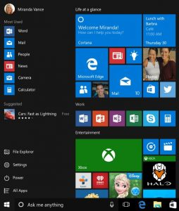 Vincular Outlook.com y Windows 10