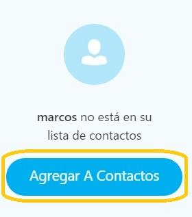 agregar contactos Skype para Outlook.com