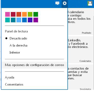 personalizar correo outlook