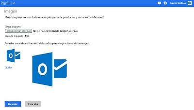 agregar o cambiar la imagen de perfil en Outlook.com | Trucosoutlook.com