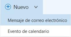 características del entorno de Outlook Preview