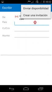 crear invitacion en outlook.com