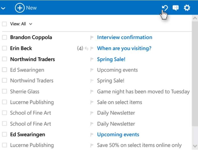 nuevas funciones de Outlook.com