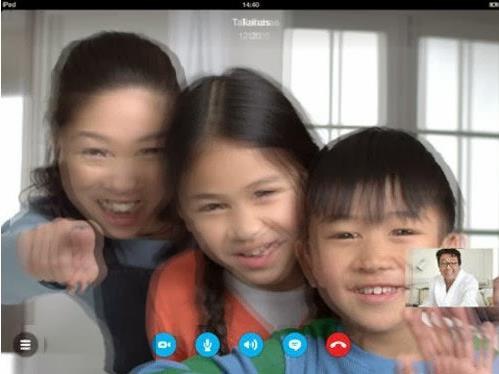 videoconferencias 3D en Skype